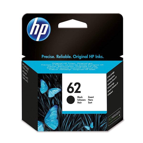 HP 62 Black Original Ink Cartridge (C2P04AE)