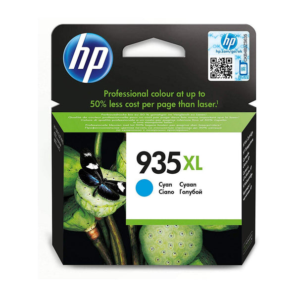 HP 935XL High Yield Cyan Original Ink Cartridge (C2P24AE)