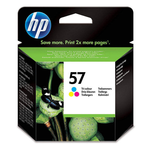 HP 57 Tri-colour Original Ink Cartridge (C6657AE)
