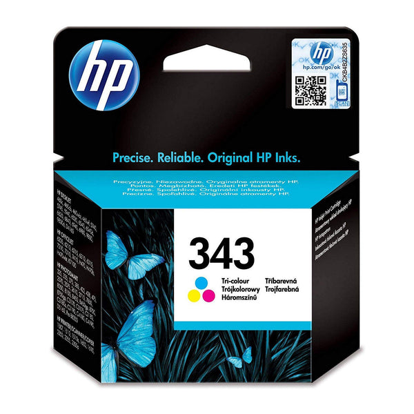 HP 343 Tri-colour Original Ink Cartridge (C8766EE)