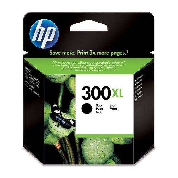 HP 300XL High Yield Black Original Ink Cartridge (CC641EE)