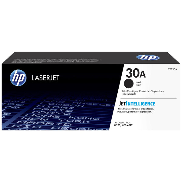 HP 30A Black Original LaserJet Toner Cartridge (CF230A)