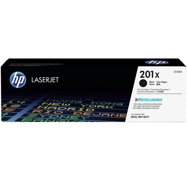 HP 201X High Yield Black Original LaserJet Toner Cartridge (CF400X)
