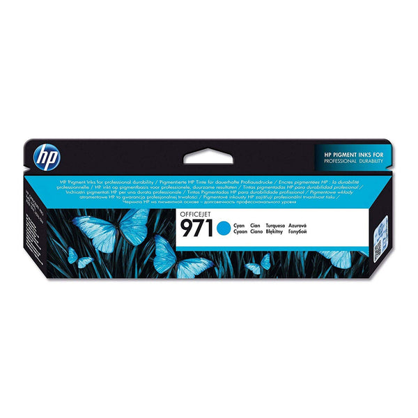 HP 971 Cyan Original Ink Cartridge (CN622AE)