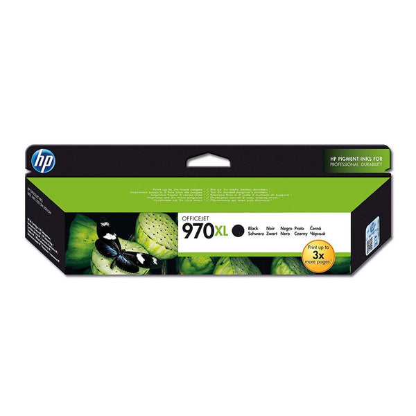HP 970XL High Yield Black Original Ink Cartridge (CN625AE)