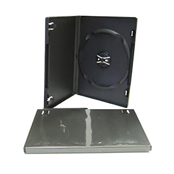DVD Case Black Single - 100 Pack