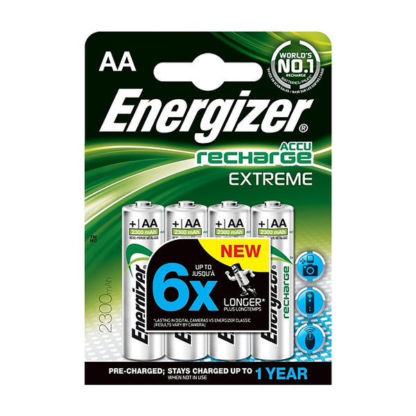 Energizer AA Rechargeable - 4 Pack