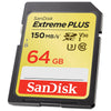 SanDisk Extreme Plus SDXC Memory Card 64GB