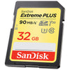 SanDisk Extreme Plus SDHC Memory Card 32GB