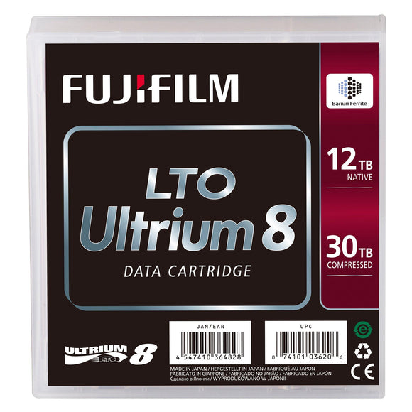 FUJIFILM LTO Ultrium 8 Data Cartridge