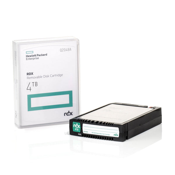 HPE 4TB RDX Removable Disk Cartridge - Q2048A