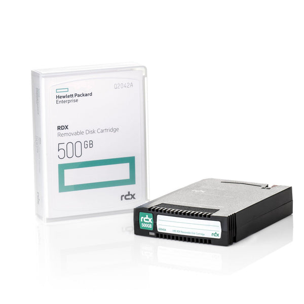 HPE 500GB RDX Removable Disk Cartridge - Q2042A