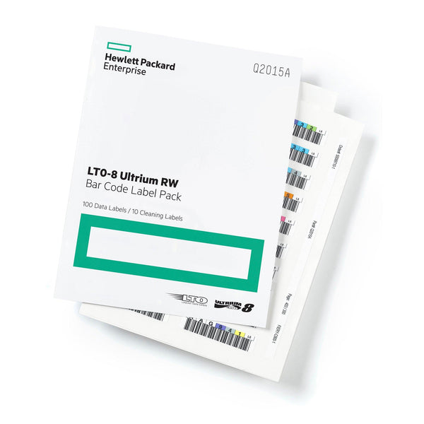 HPE LTO 8 Ultrium Label Pack