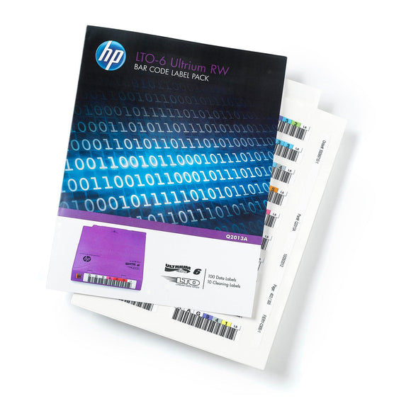 HPE LTO 6 Ultrium Label Pack