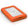 LaCie Rugged Mini HDD USB 3.0 Front Angled