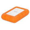 LaCie Rugged RAID Pro 4TB HDD USB-C / SD Reader Angled
