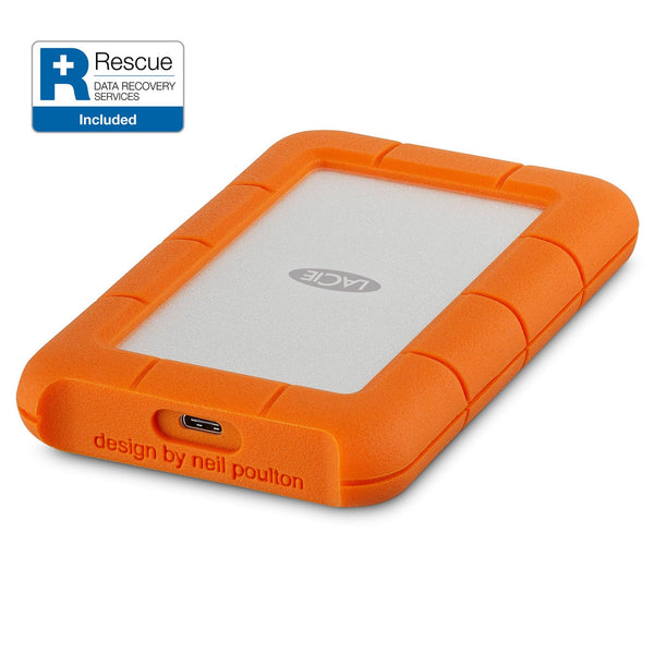 LaCie Rugged Mini HDD USB-C (1TB - 2TB)