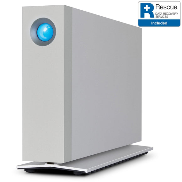 LaCie d2 HDD Thunderbolt 3 / USB-C Front Side