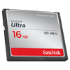 SanDisk Ultra CompactFlash Memory Card 16GB