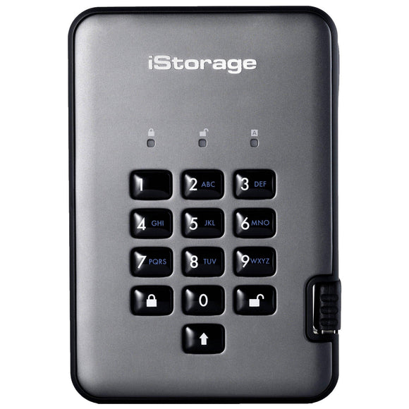 iStorage diskAshur Pro2  Encrypted SSD USB 3.1