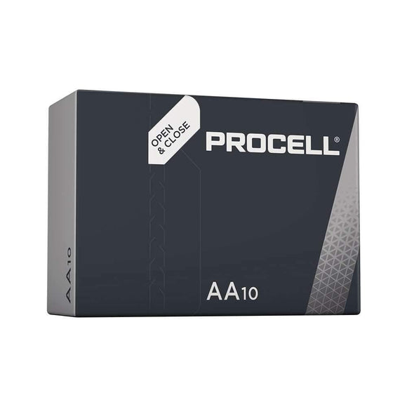 Duracell Procell AA Alkaline Packaging