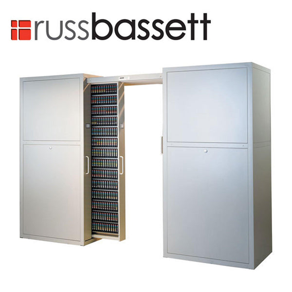 Russ Bassett Gemtrac High Density Media Storage - DLT/LTO