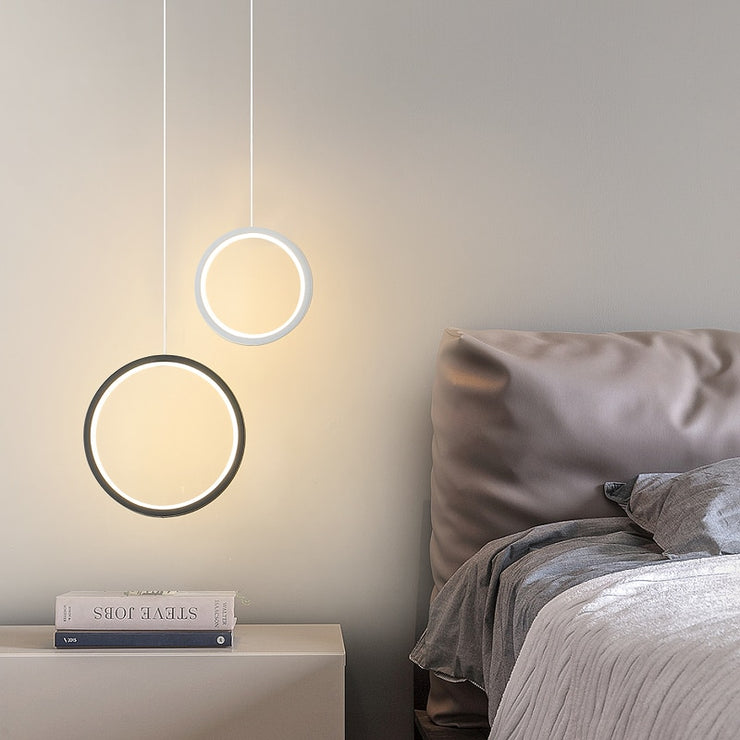Ring pendant light minimalist /creative - Shopnr1