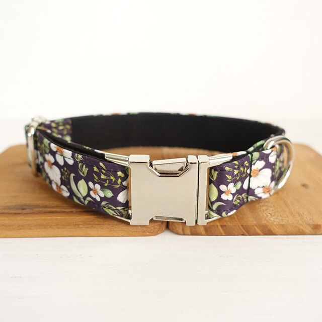 Dog Collar or Leash with Bows - Shopnr