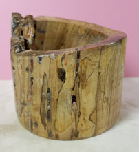 Load image into Gallery viewer, BW12 - spalted walnut with pink resin highlights