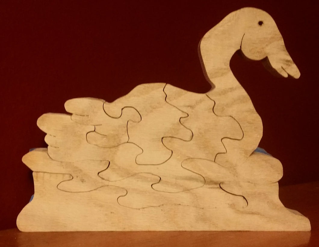 Duck on water puzzle