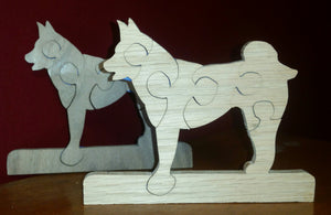 Small husky puzzle