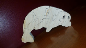 Manatee (sea-cow) puzzle