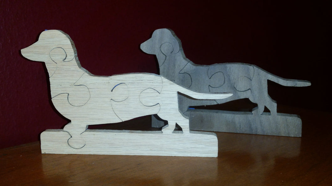 Small dachshund puzzle