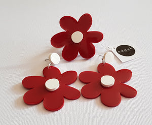 Red Bloom Ring