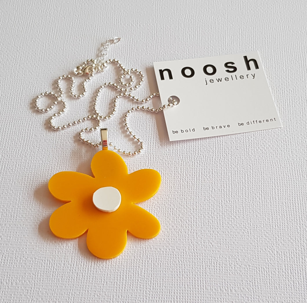 Yellow Bloom Pendant