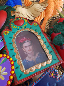 Church Nicho with Frida - Mexican Tin Nicho