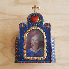 Load image into Gallery viewer, PRE ORDER - Church Nicho with Frida - Mexican Tin Nicho
