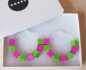 Custom Block Hoops
