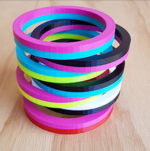 Load image into Gallery viewer, Item 133 - 3d Printed Stack Bangle