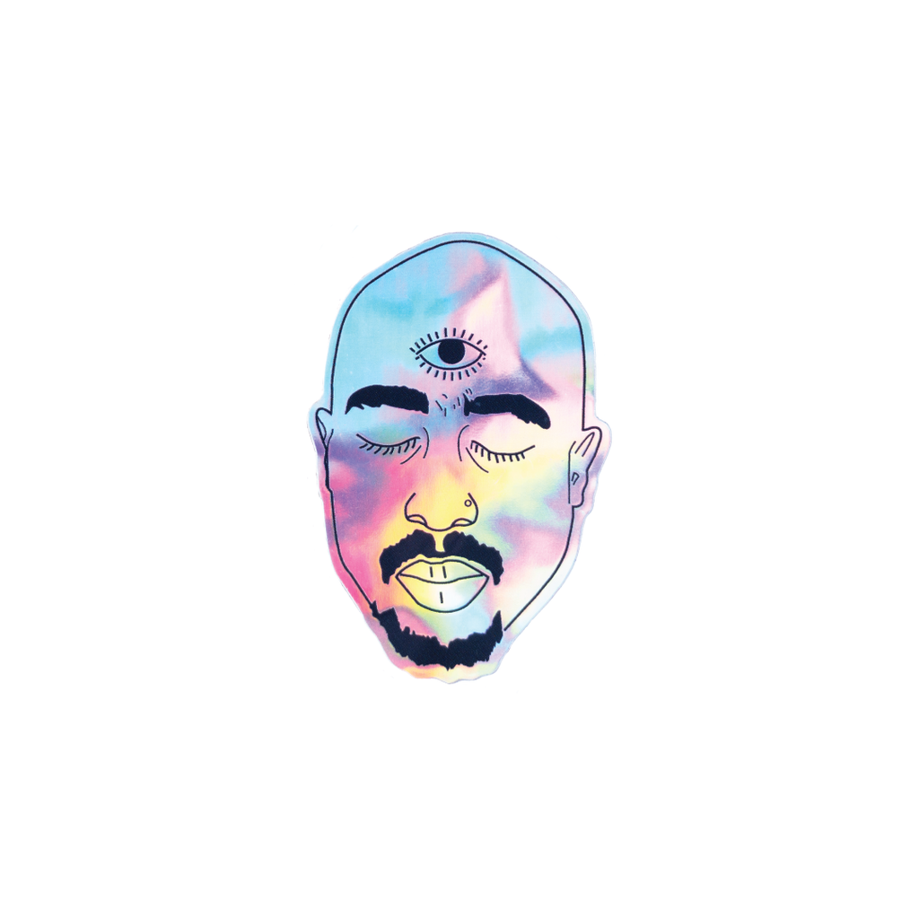 TUPAC STICKER - la sirena shop