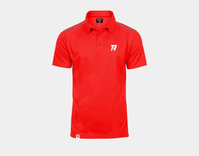 Polo match basic rouge - Mytennishop
