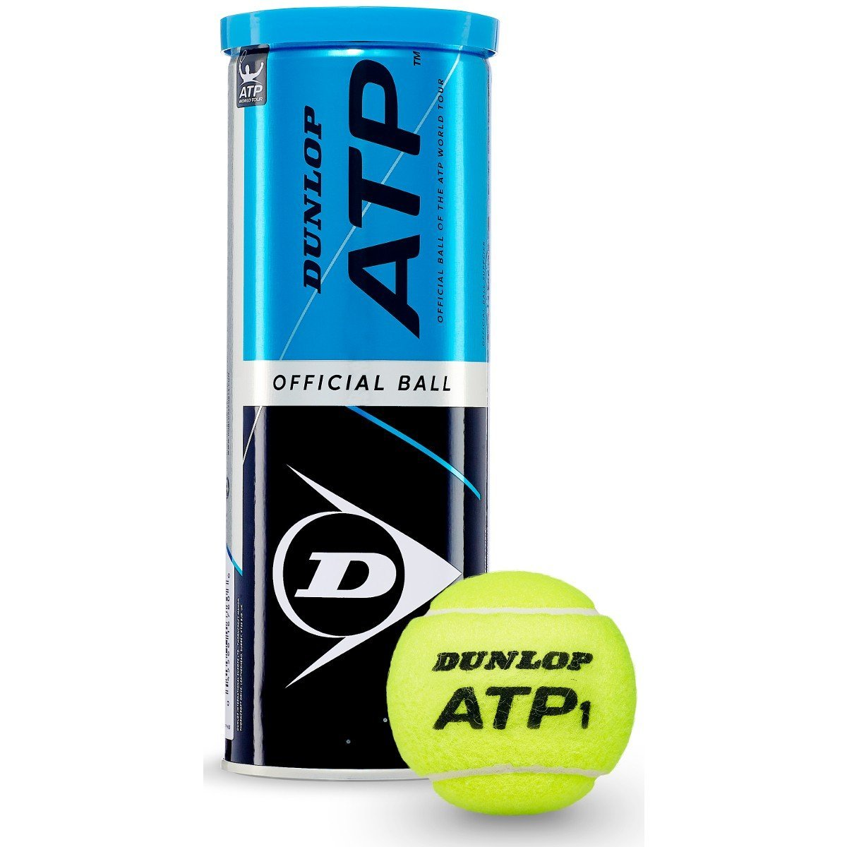 Tube de 3 balles ATP - Mytennishop
