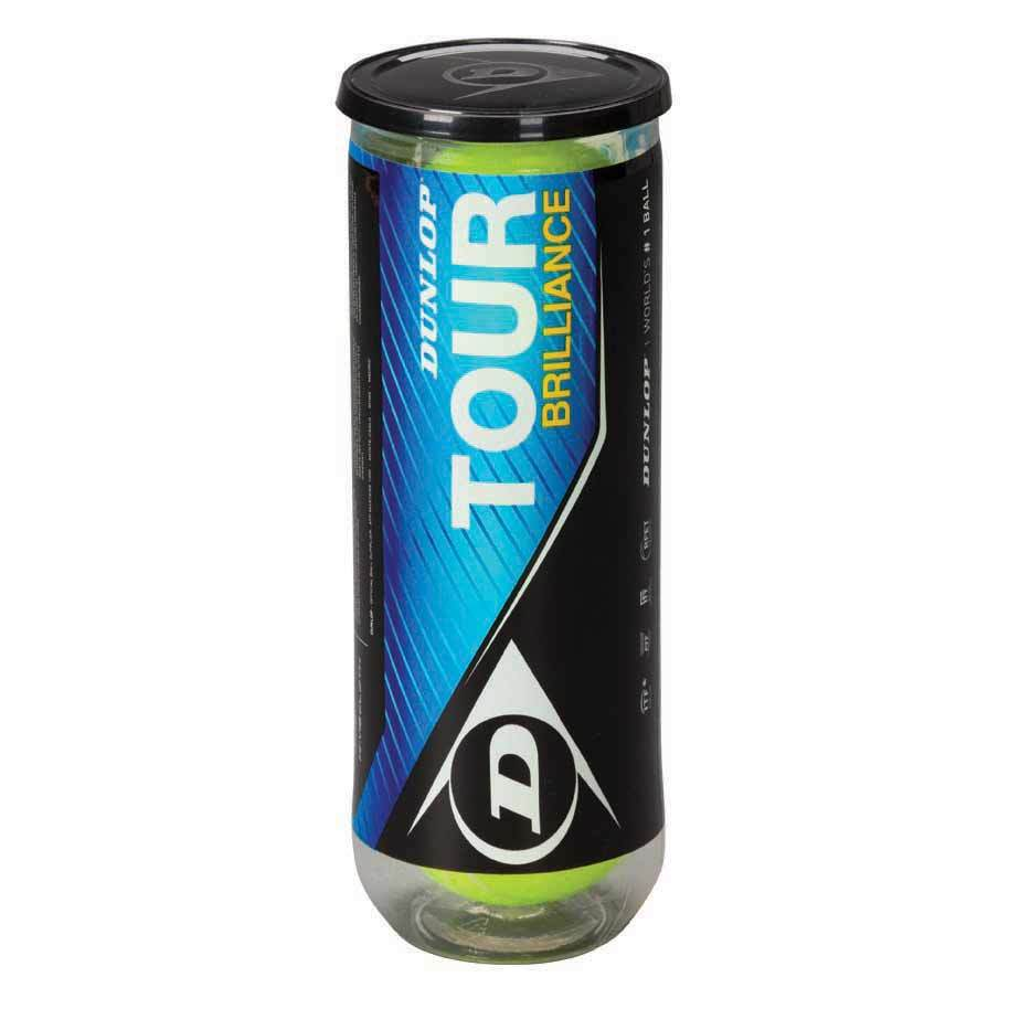 Tube de 3 balles Tour Brillance - Mytennishop