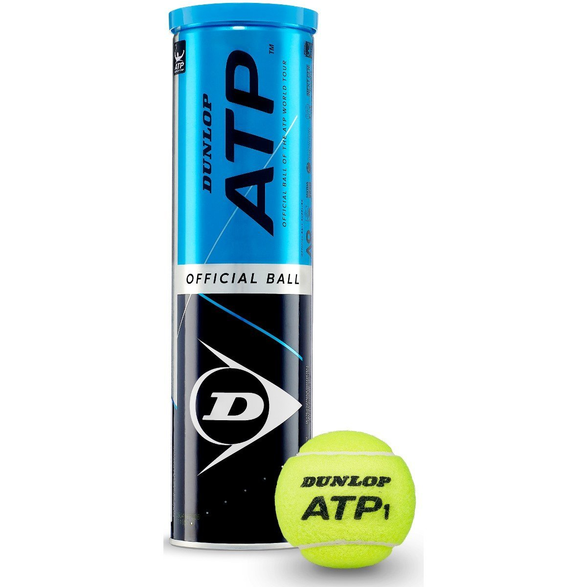 Tube de 4 balles ATP - Mytennishop