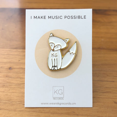 KG Fox Pins (KG Records Exclusive Gift)
