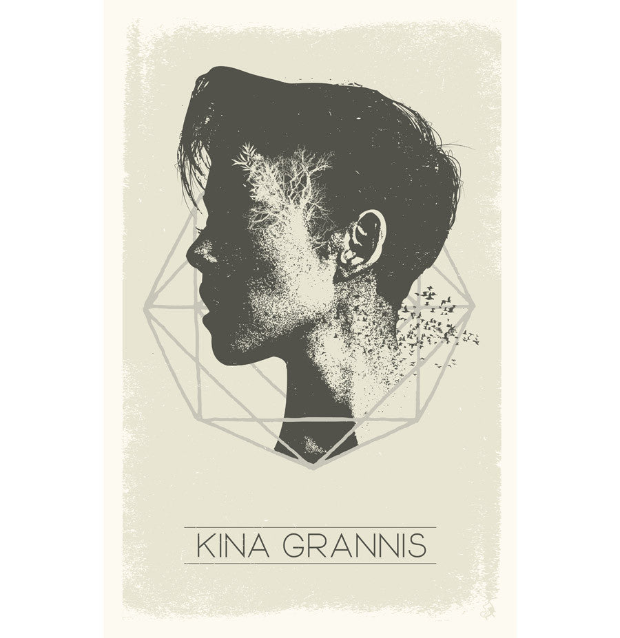 Kina Grannis 'Earth' Poster