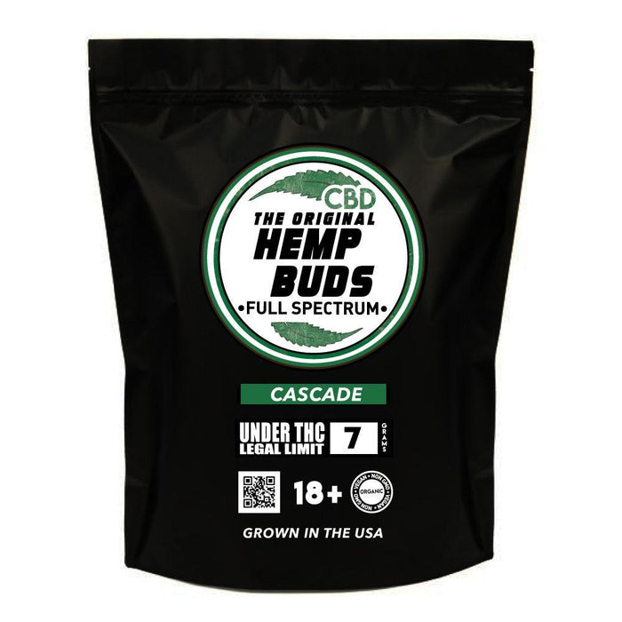 Hemp Buds - Cacade CBD Hemp Flower