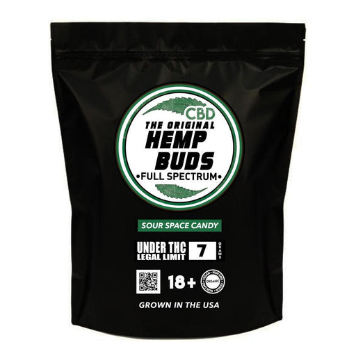 Hemp Buds - CBD Flower - Sour Spacy Candy Strain
