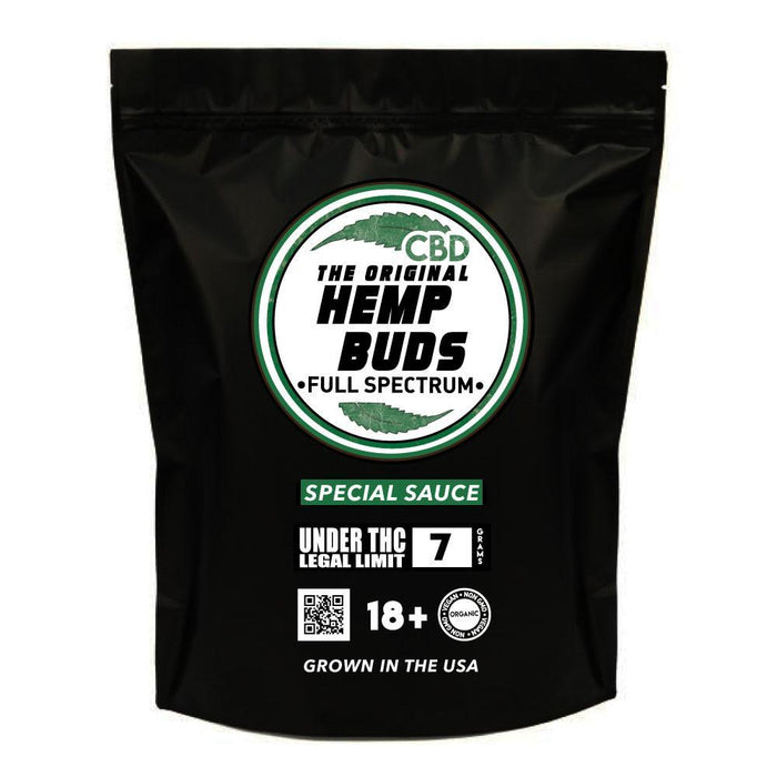 Hemp Buds - CBD Flower - Special Sauce Strain -Wellnessmeds