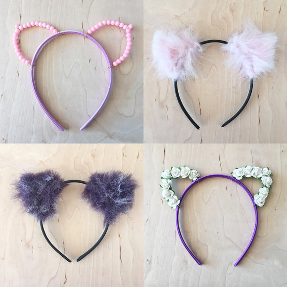 Cat Ear Headbands